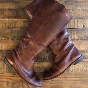 Woman's - FRYE Paige Tall Riding Boots - Size: 10